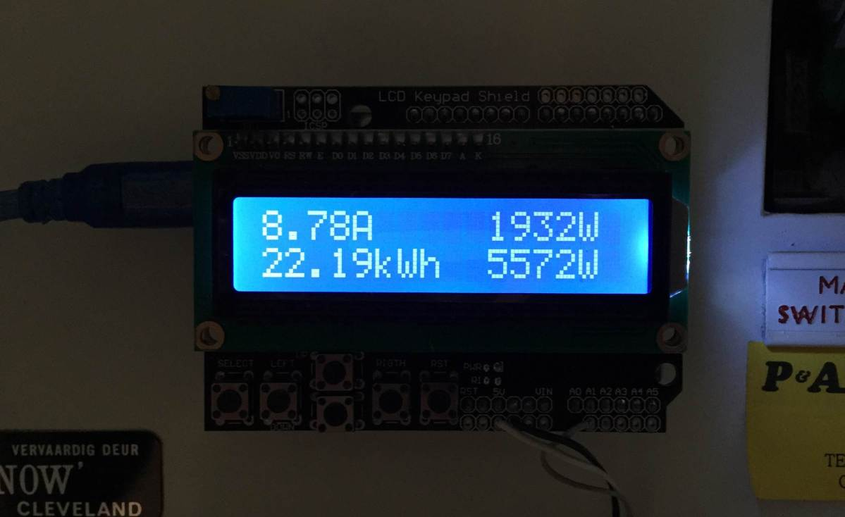 Simple Arduino Home Energy Meter